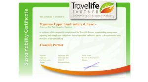 Travelife-Partner certificate